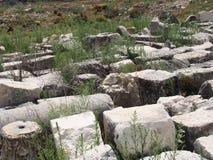 Sitio de Lycian de Tlos foto de archivo