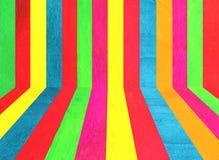 Sitio de madera colorido imagen de archivo libre de regalías