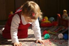 Sitio de niño asoleado Fotografía de archivo libre de regalías