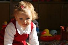 Sitio de niño asoleado Imágenes de archivo libres de regalías