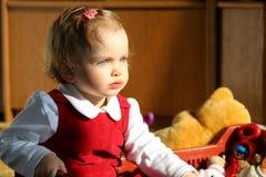 Sitio de niño asoleado Imagen de archivo libre de regalías