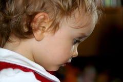 Sitio de niño asoleado Imagenes de archivo