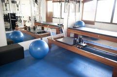 Sitio de Pilates Fotografía de archivo libre de regalías