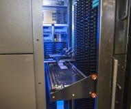 Sitio de servidor de red Imagen de archivo libre de regalías