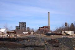 Sitio de trabajo abandonado Foto de archivo