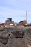 Sitio de trabajo abandonado Fotografía de archivo