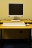 Sitio de trabajo it3 del ordenador Imagen de archivo libre de regalías