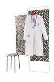 Sitio de tratamiento médico Imagen de archivo libre de regalías