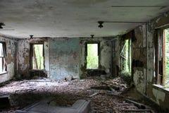Sitio del abandono Fotografía de archivo libre de regalías