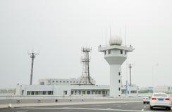 Sitio del aeropuerto Fotografía de archivo libre de regalías