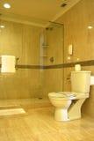 Sitio del baño del hotel de la estrella del lujo cinco Fotos de archivo