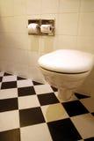 Sitio del baño y wc Fotos de archivo libres de regalías