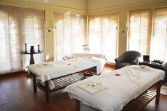 Sitio del balneario en el hotel de Oberoi Udaivilas Fotografía de archivo