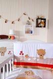Sitio del bebé Imágenes de archivo libres de regalías