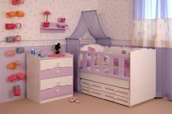 Sitio del bebé Imagen de archivo