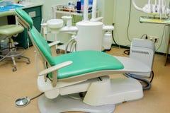 Sitio del dentista Foto de archivo libre de regalías
