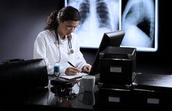 Sitio del doctor Foto de archivo