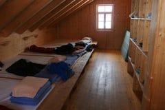 Sitio del edificio de la madera Fotografía de archivo