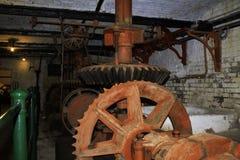 Sitio del engranaje del molino de los alfareros Fotografía de archivo libre de regalías