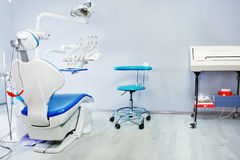 Sitio del examen del dentista Fotos de archivo