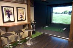 Sitio del golf en un hotel Imagen de archivo libre de regalías