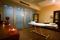 Sitio del masaje Imagenes de archivo