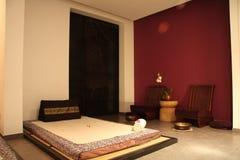 Sitio del masaje Imágenes de archivo libres de regalías