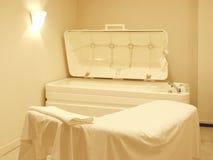 Sitio del masaje Fotografía de archivo libre de regalías
