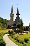 Sitio del monasterio de Barsana Fotografía de archivo