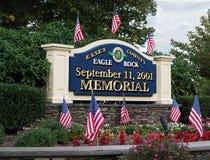 Sitio del monumento del 11 de septiembre. Fotos de archivo