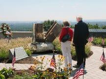 Sitio del monumento del 11 de septiembre Fotos de archivo libres de regalías