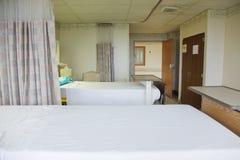 Sitio del paciente en el hospital imagen de archivo libre de regalías