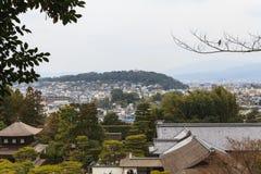 Templo de Ginkakuji - Kyoto, Japón Imagen de archivo libre de regalías