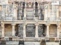 Sitio del patrimonio mundial del vav la India del ki de Rani fotografía de archivo
