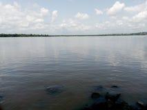 Sitio del río fotografía de archivo