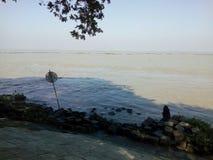 sitio del río del podma Foto de archivo libre de regalías