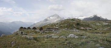 Sitio del refugio del lago blanco, Francia Fotos de archivo libres de regalías