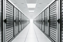 Sitio del servidor Fotografía de archivo libre de regalías