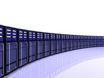 Sitio del servidor del ordenador Fotografía de archivo