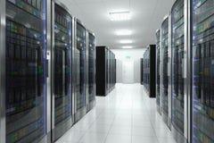 Sitio del servidor en datacenter libre illustration