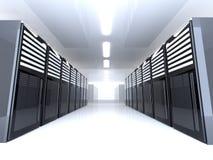 Sitio del servidor - granangular Fotografía de archivo