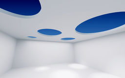 Sitio del techo del agujero Imagen de archivo