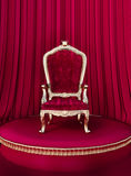 Sitio del trono Fotografía de archivo