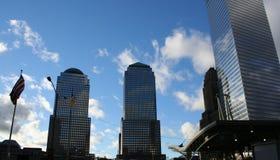 Sitio del World Trade Center fotos de archivo