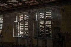 Sitio destruido terrible Foto de archivo libre de regalías