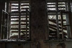 Sitio destruido terrible Imagen de archivo libre de regalías