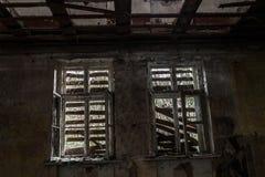 Sitio destruido terrible Fotografía de archivo libre de regalías
