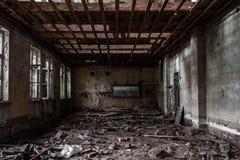 Sitio destruido terrible Fotografía de archivo
