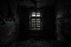 Sitio destruido terrible Fotos de archivo