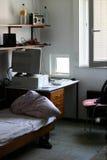 Sitio en dormitorio Imágenes de archivo libres de regalías